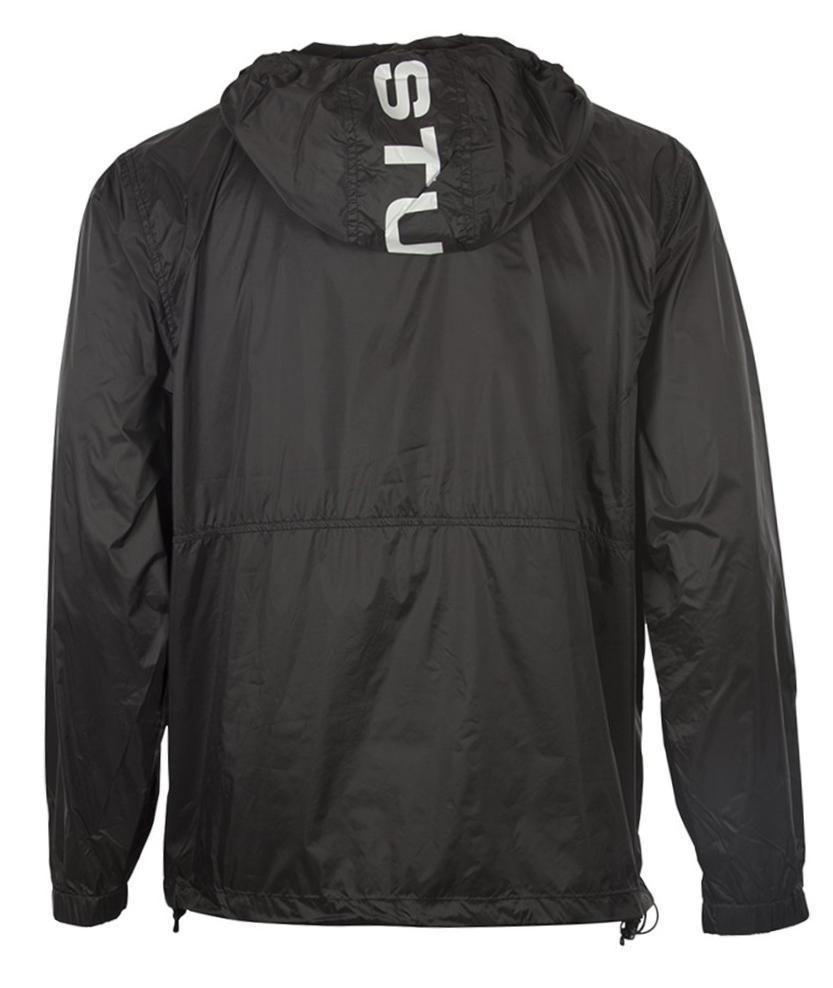 61e19e27cc4 Stussy Sport Nylon Jacket in Black for Men - Lyst