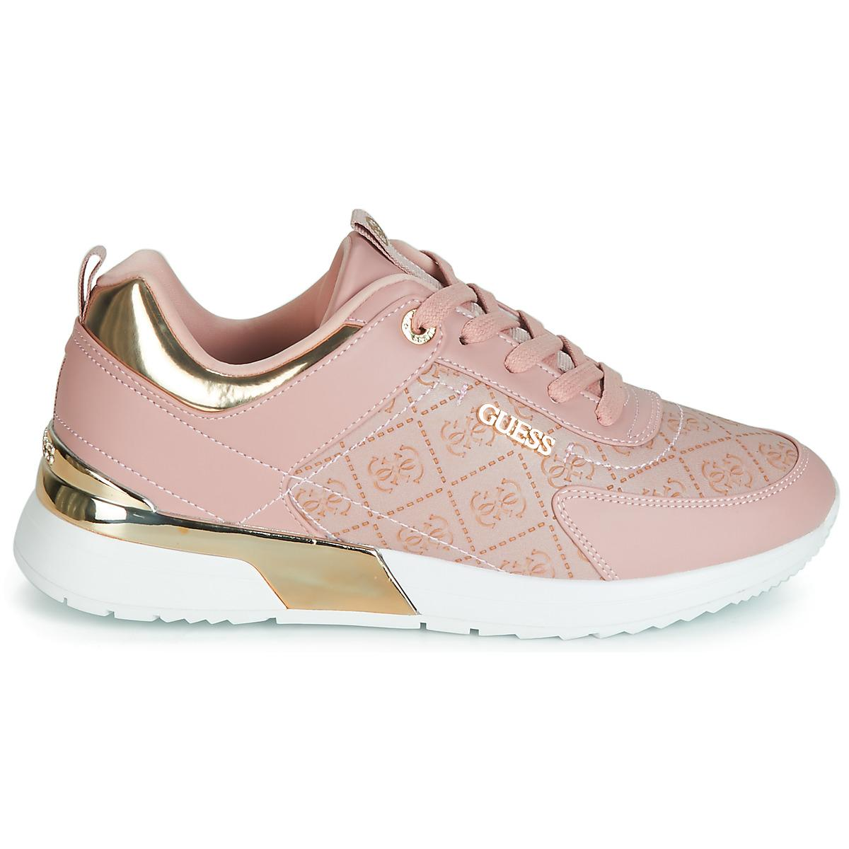 9bd6349c2b9 Guess Marlyn Shoes (trainers) in Pink - Lyst