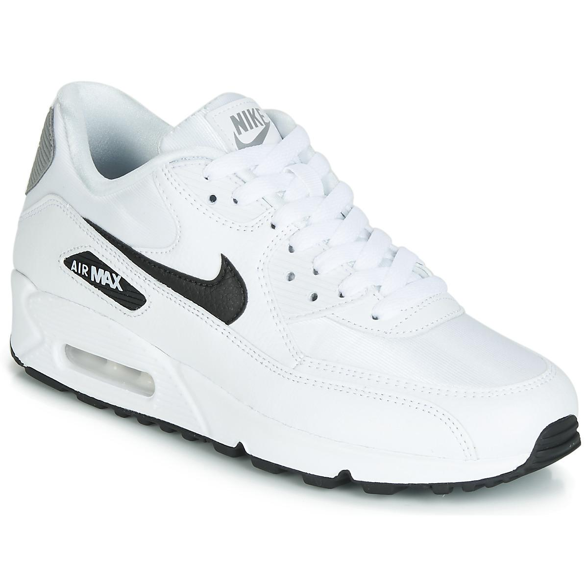 buy online 70933 ad333 Nike. Women s White Air Max 90 W Shoes ...