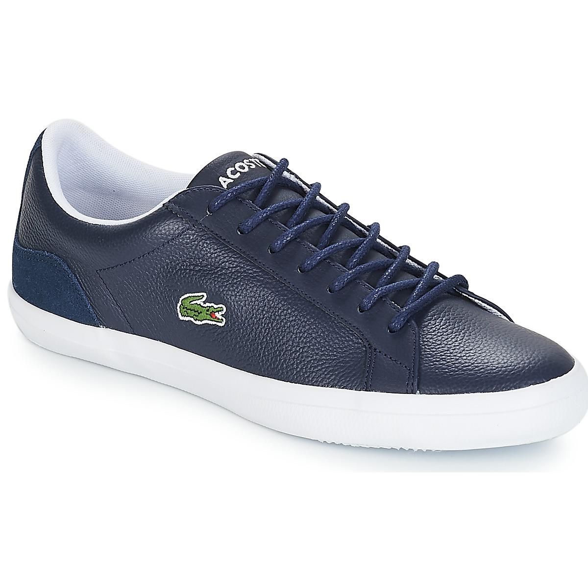 a9b36c48cbc7 Lacoste Lerond 318 3 Shoes (trainers) in Blue for Men - Lyst