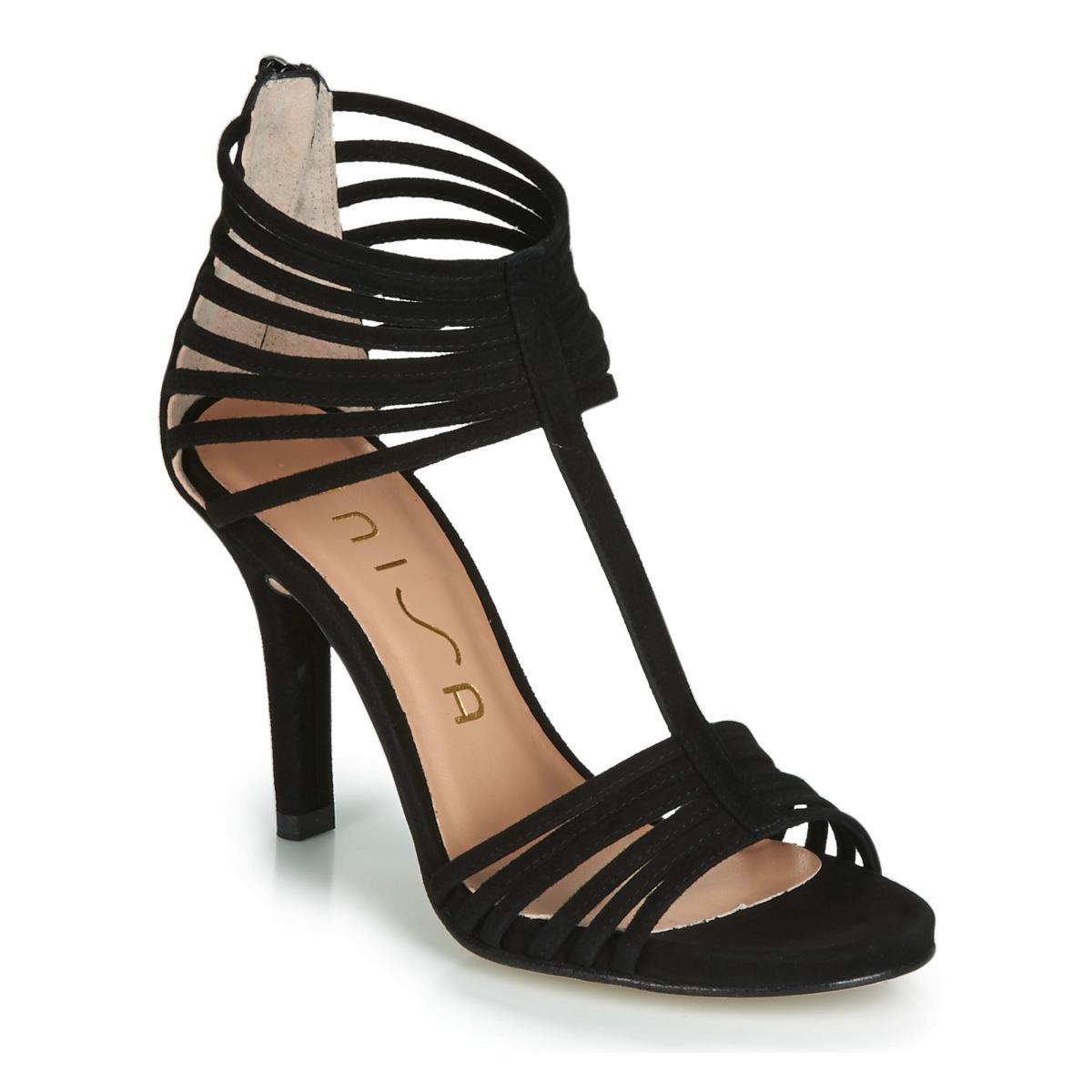 ca949c7c499a Unisa Yusta Court Shoes in Black - Lyst