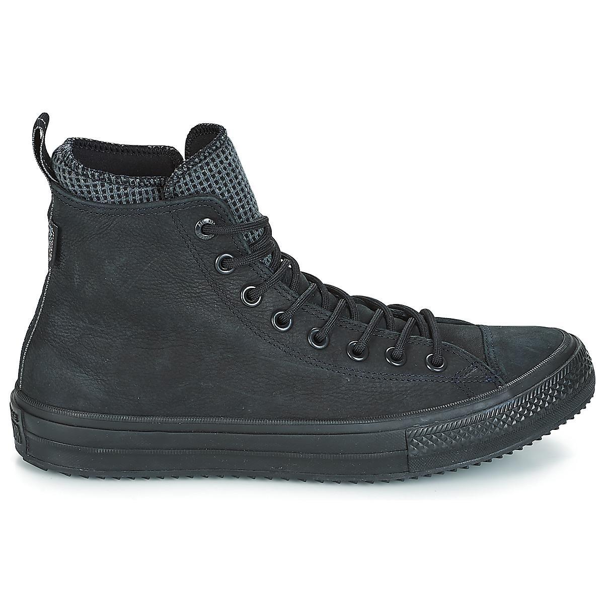 d8906c263bef3e Converse - Black Chuck Taylor All Star Wp Boot Leather Hi Shoes (high-top.  View fullscreen