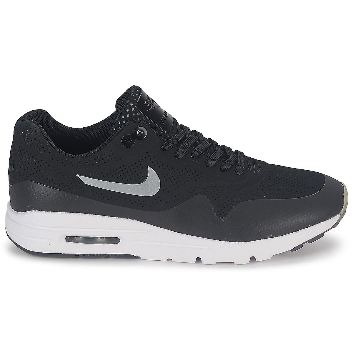 3dbd2d0e37 Nike - Black Air Max 1 Ultra Moire Shoes (trainers) - Lyst. View fullscreen