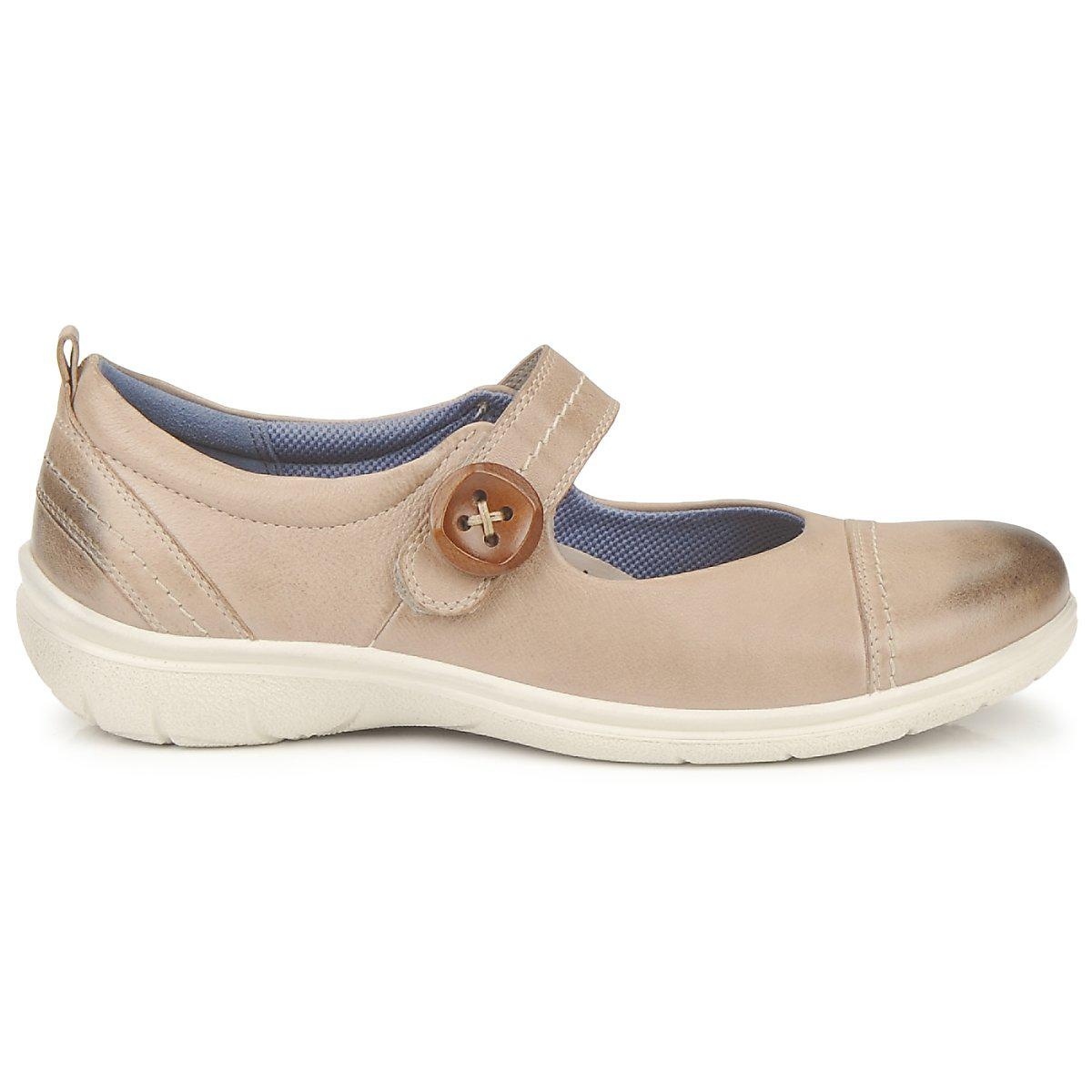 829c6563e787 Ecco Clay Mary Jane Shoes (pumps   Ballerinas) in Natural - Lyst