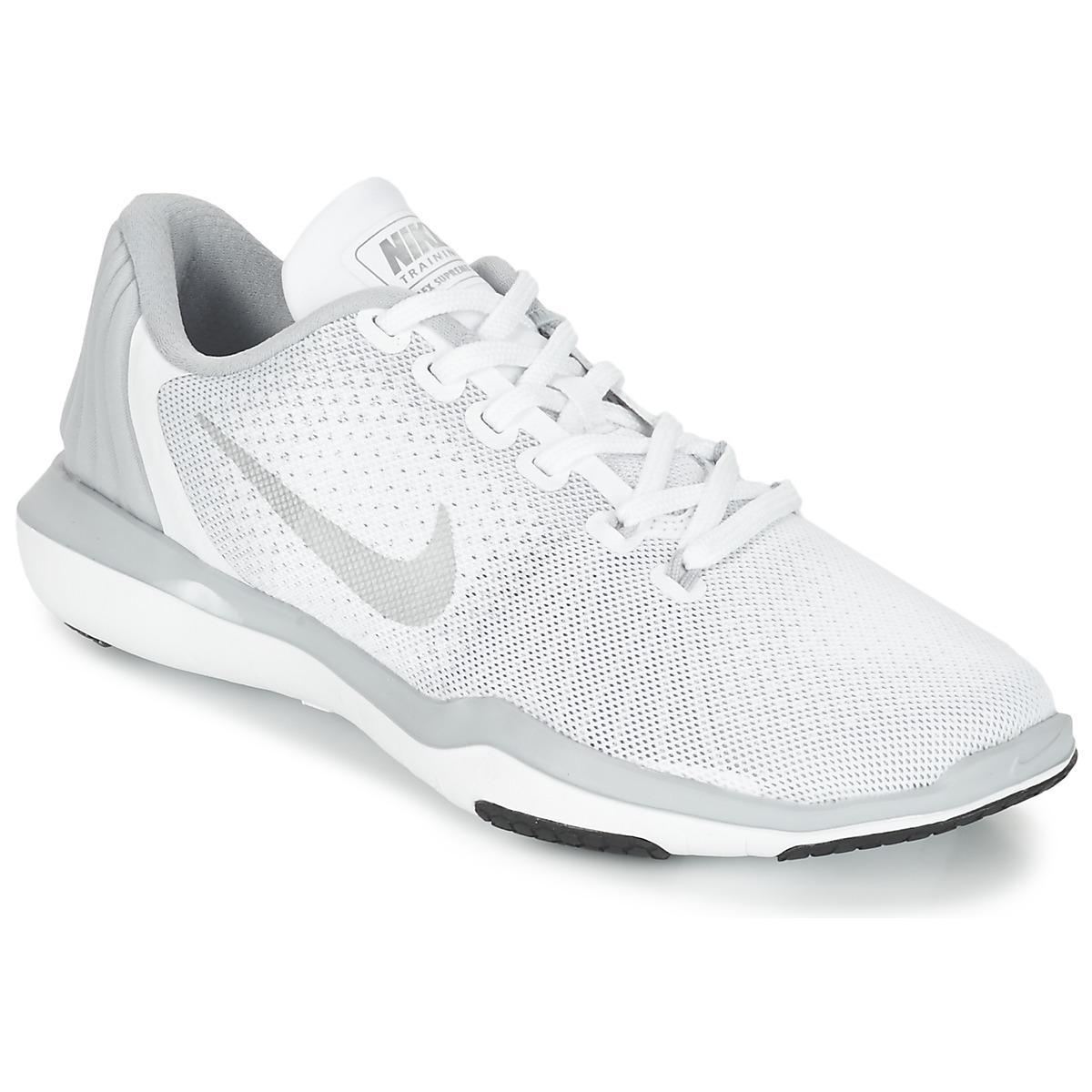 ef99fd83a90a Nike Flex Supreme Trainer 5 W Trainers in White - Lyst