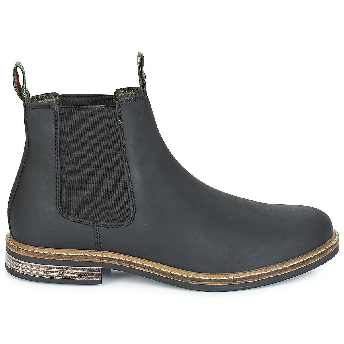 55e3401c273 Barbour Farsley Mid Boots in Black for Men - Lyst