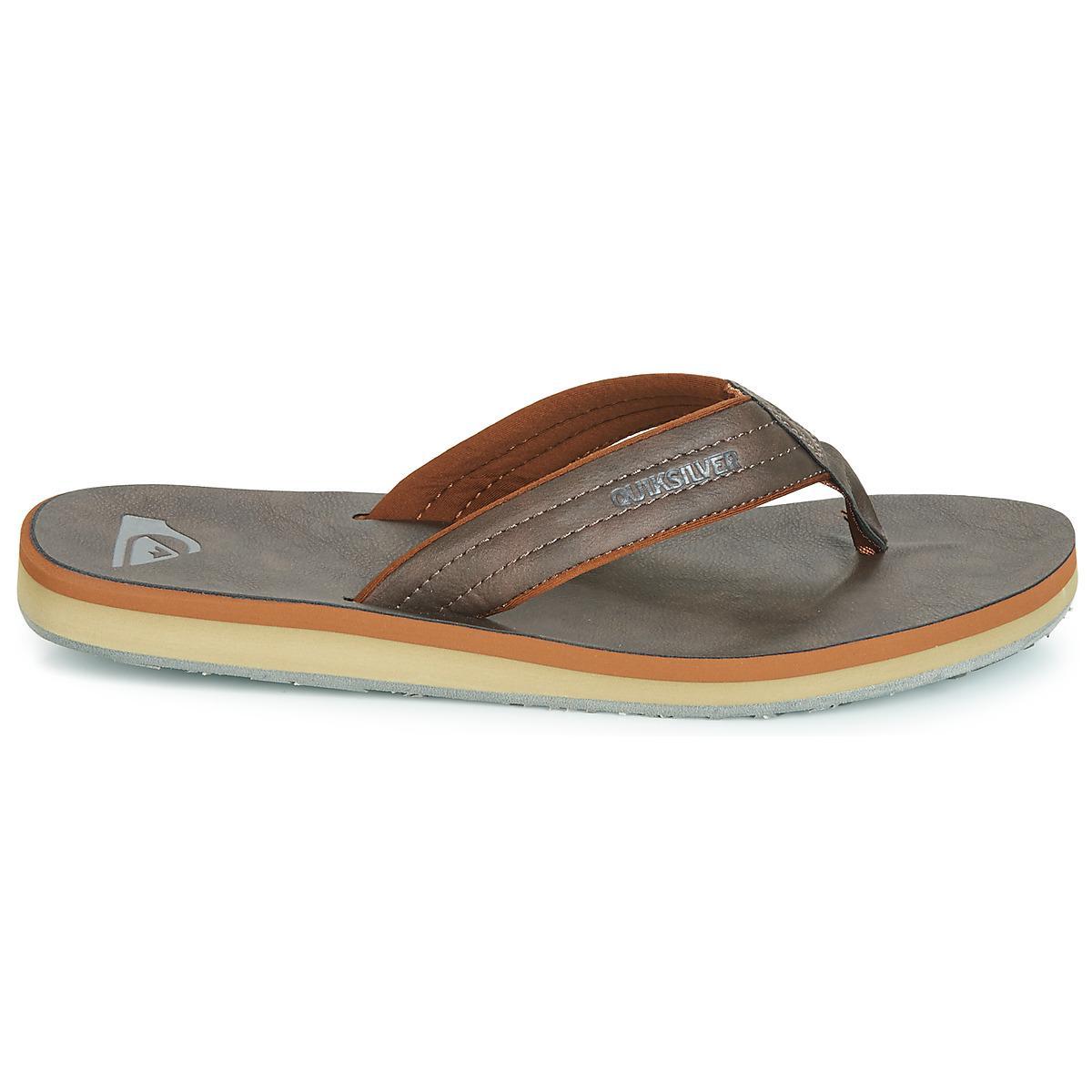 6f9dad4c810b Quiksilver - Brown Carver Nubuck M Sndl Ctk1 Flip Flops   Sandals (shoes)  for. View fullscreen