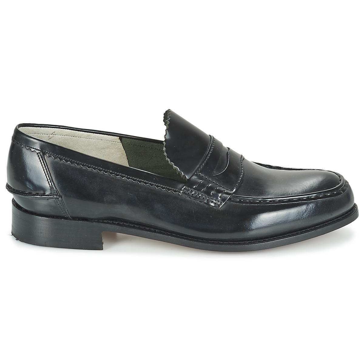 4637db66bca Barker - Black Caruso Loafers   Casual Shoes for Men - Lyst. View fullscreen