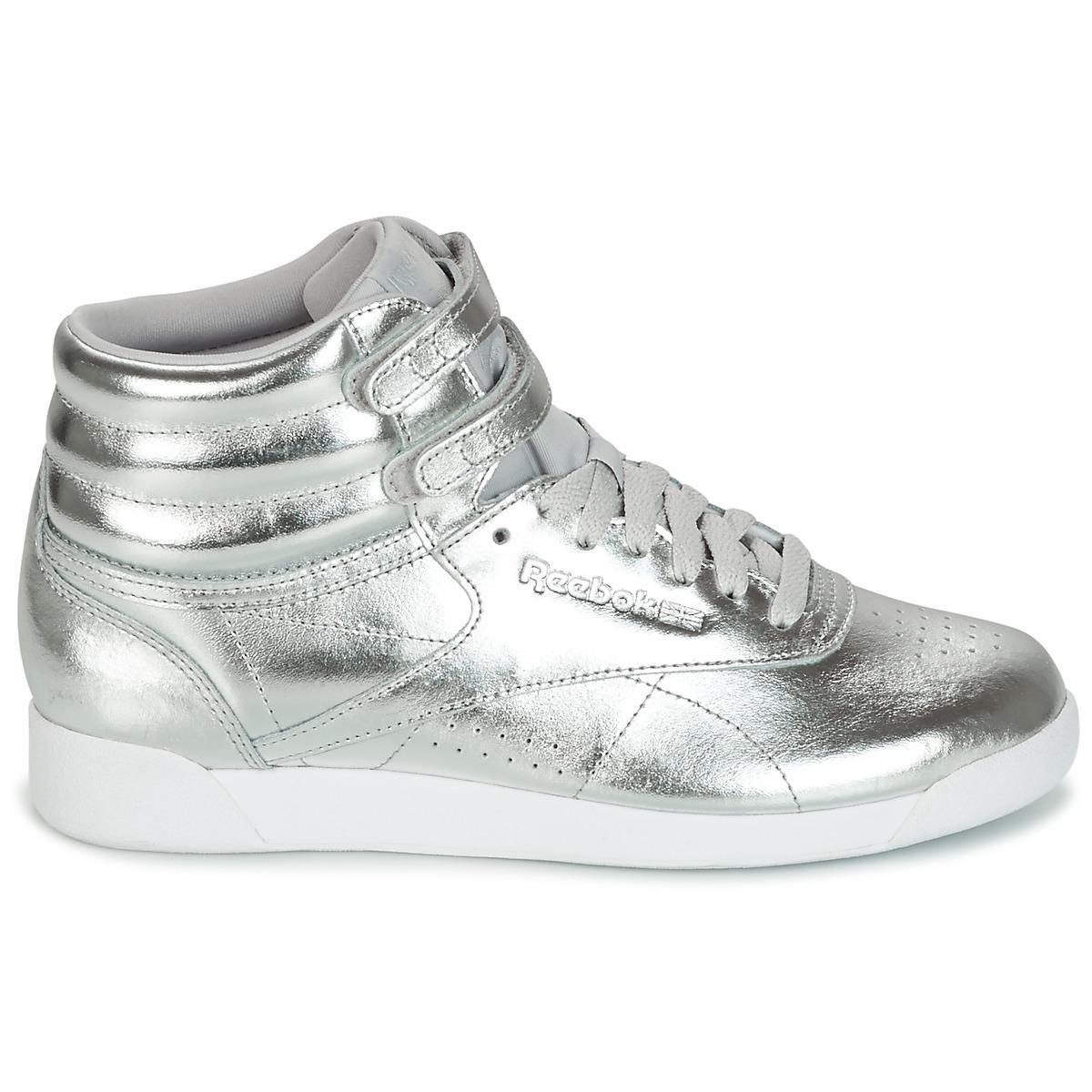 d1f687df8c5114 Reebok - F s Hi Metallic Women s Shoes (high-top Trainers) In. View  fullscreen