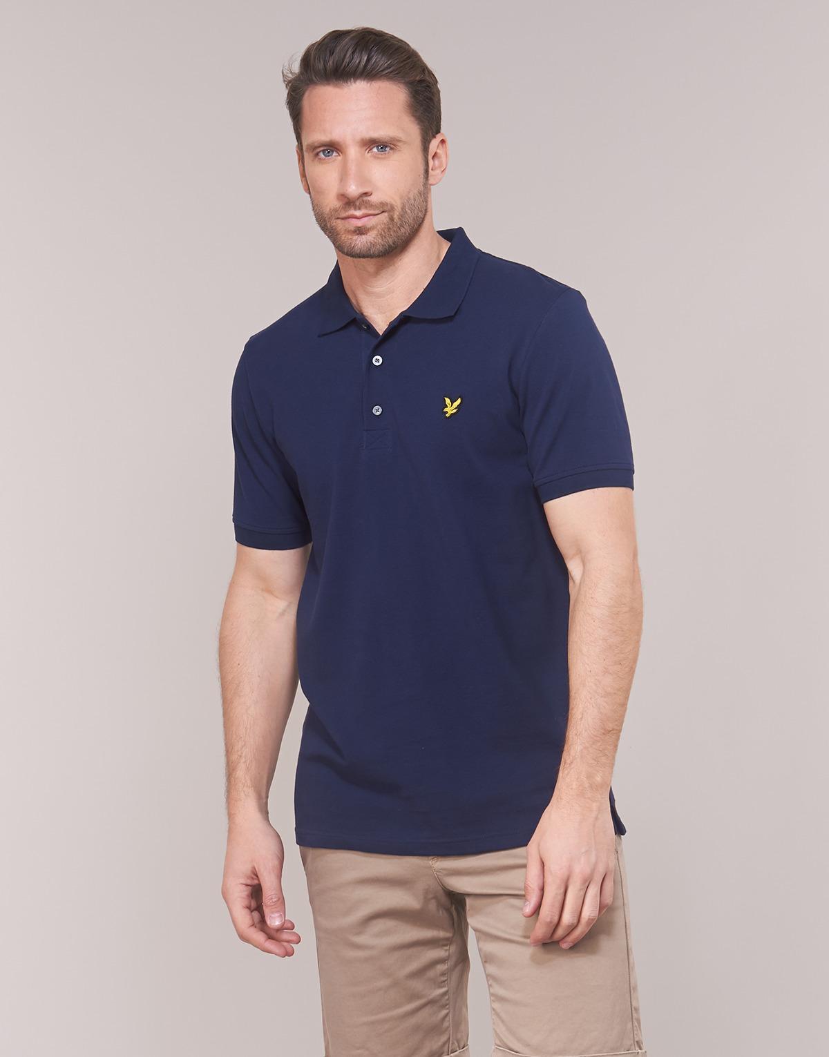 98cb444eeeb Lyle   Scott Fafarlipe Polo Shirt in Blue for Men - Save 52% - Lyst