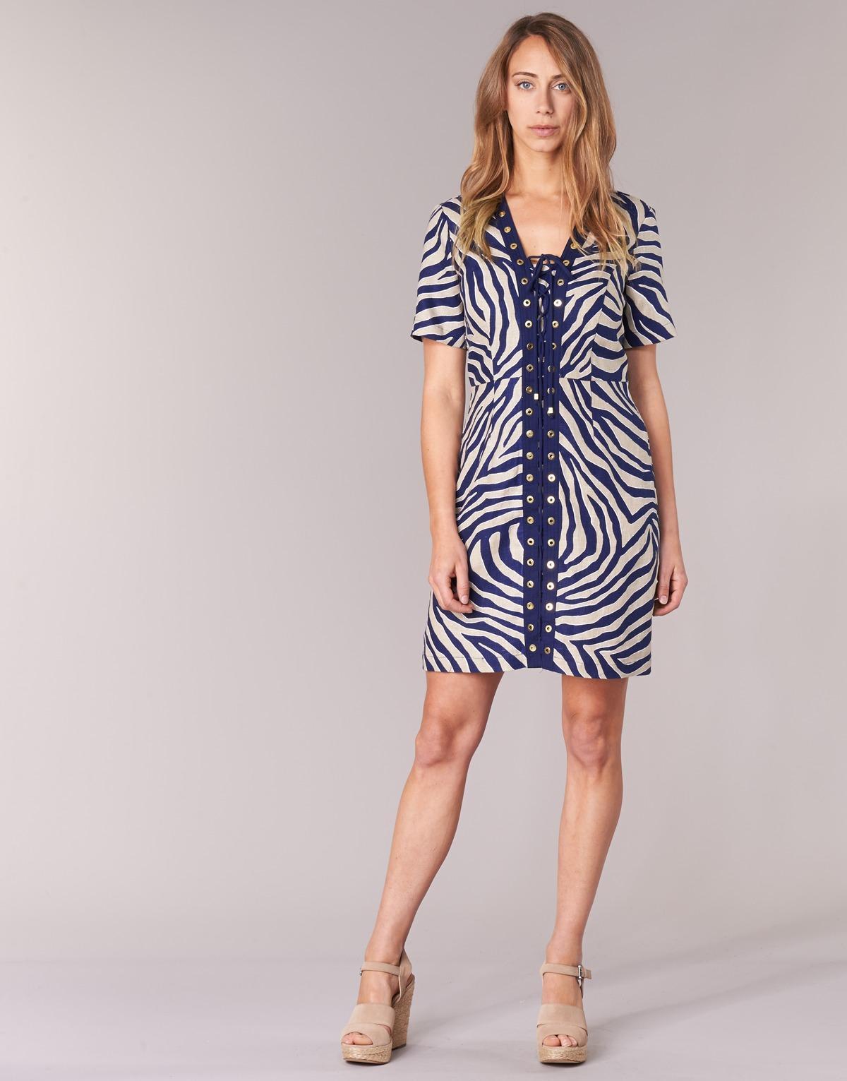 7c473f98d6 MICHAEL Michael Kors Quincy Summer Dress in Blue - Save 1% - Lyst
