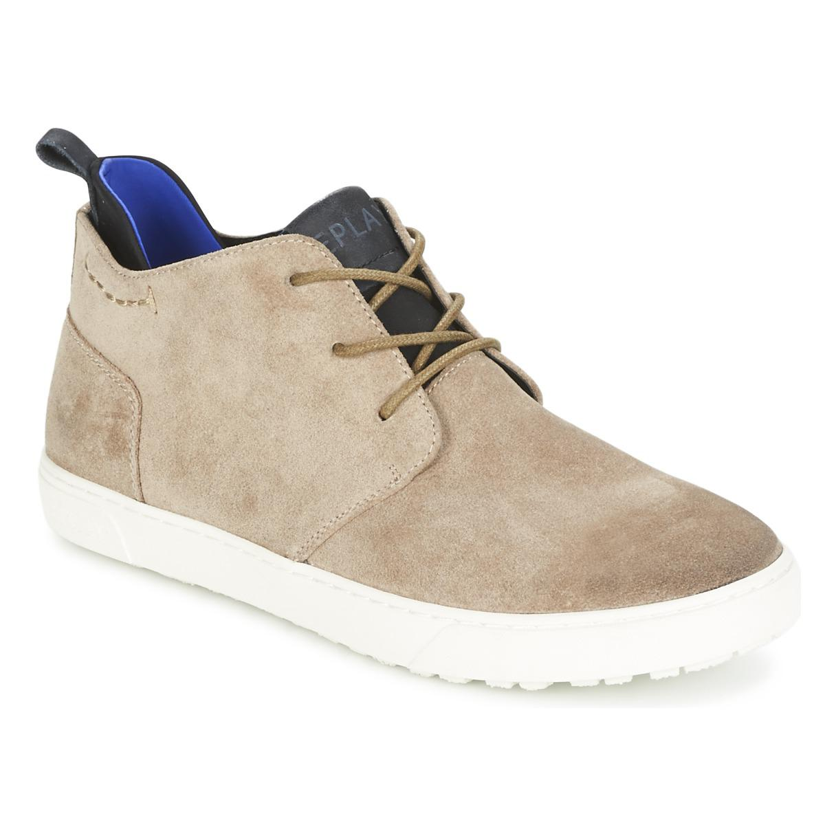 Lyst Top Replay Shoeshigh TrainersIn Natural For Men Hydro 8OP0nkw