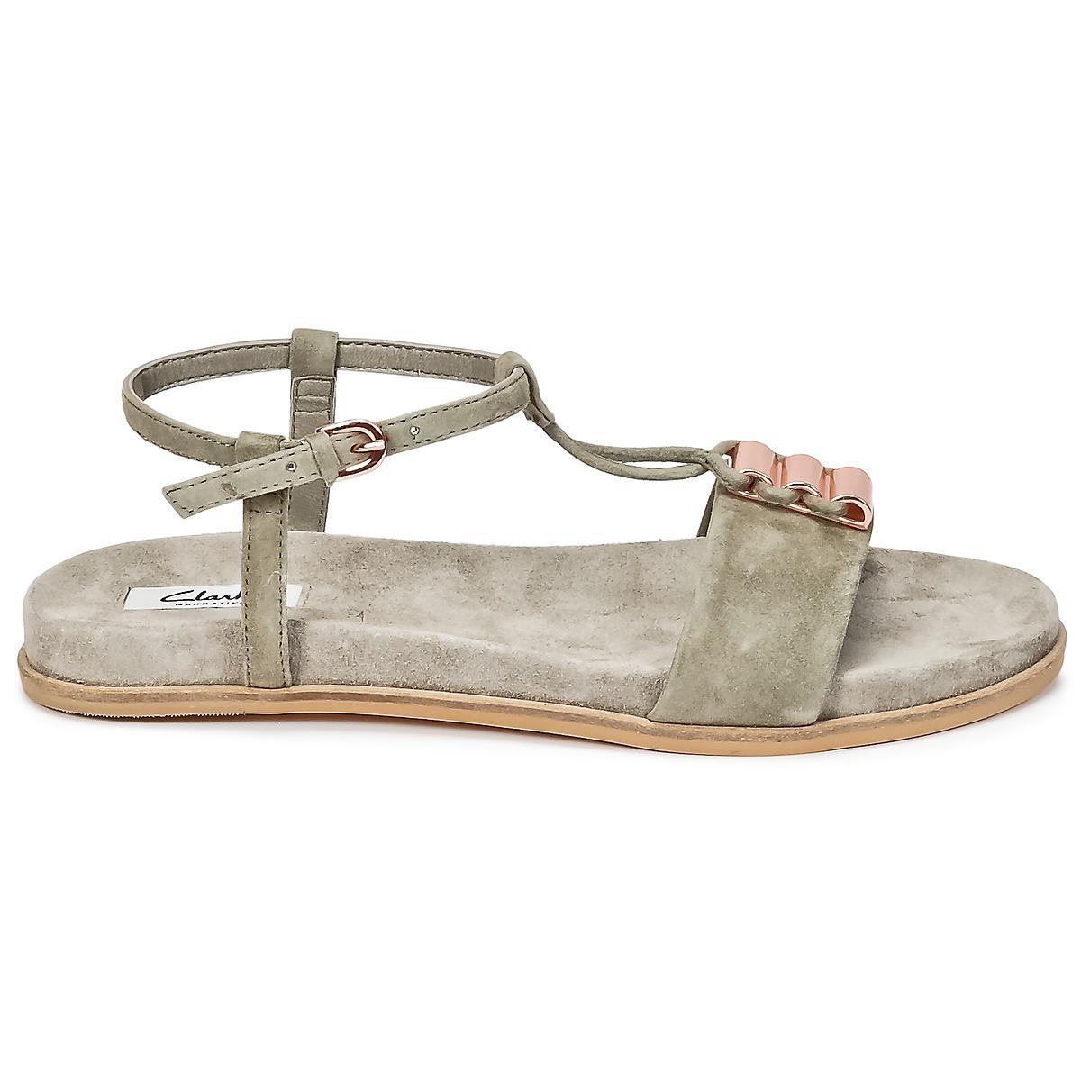 c251ecf97e0 Clarks - Gray Agean Cool Sandals - Lyst. View fullscreen