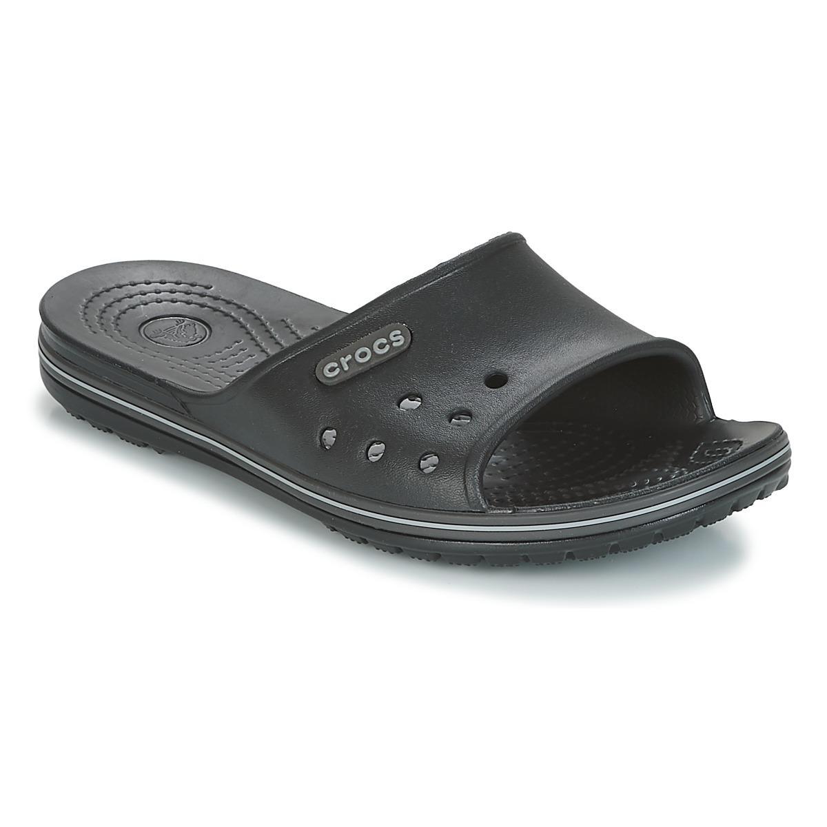 b65065690 Crocs™ - Black Crocband Ii Slide Sandals - Lyst. View fullscreen