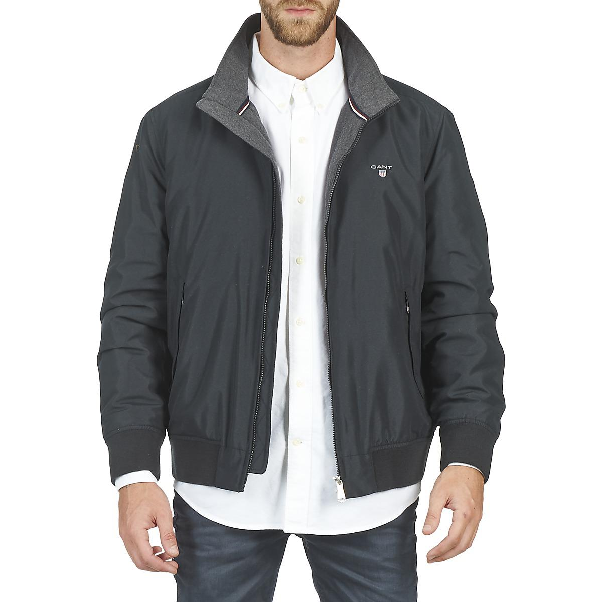 c10b794203 The in Gant Lyst Hampshire Men for Jacket Black Jacket dzqCSU