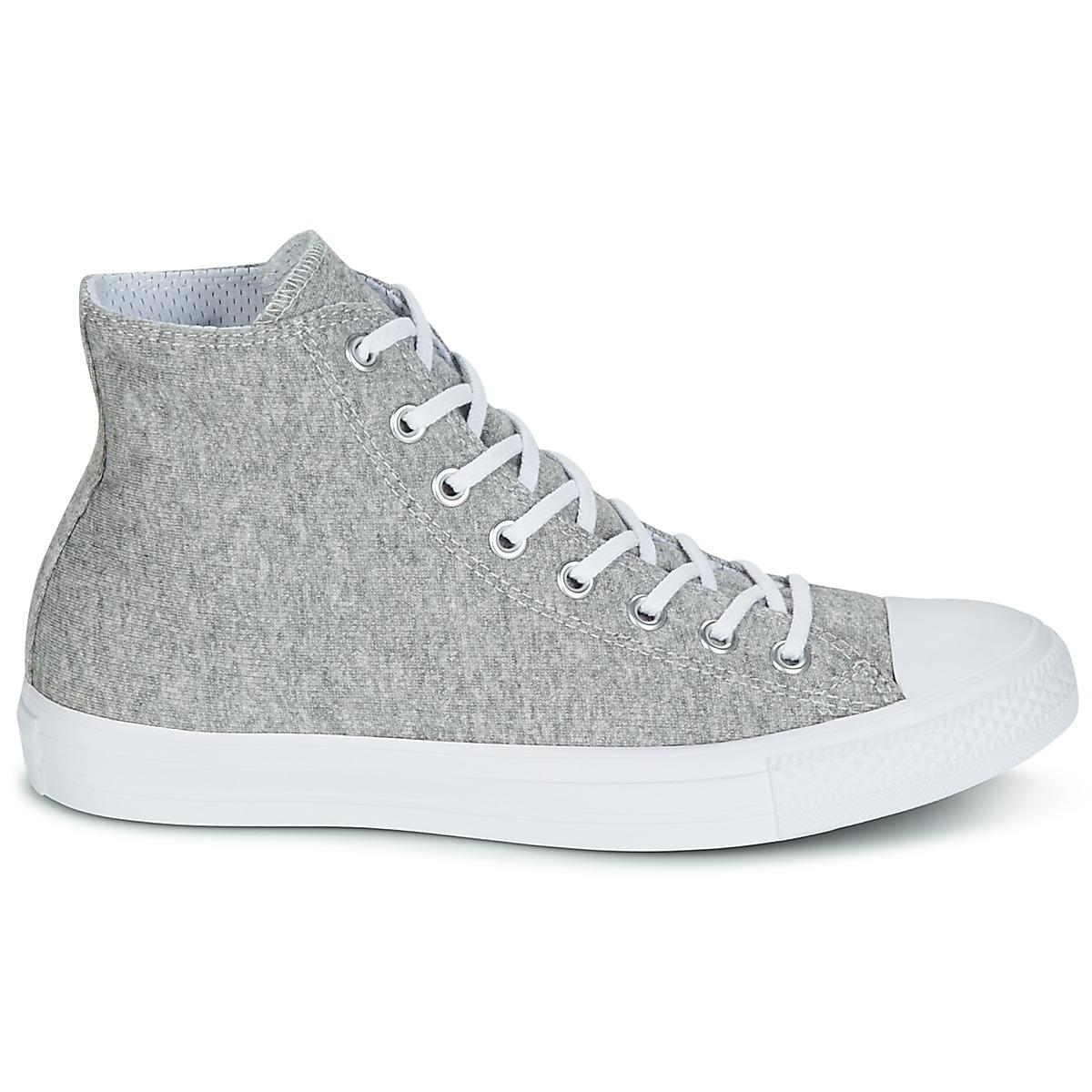 f53bdd40aac Converse - Gray Chuck Taylor All Star Hi Essential Terry Men s Shoes  (high-top. View fullscreen