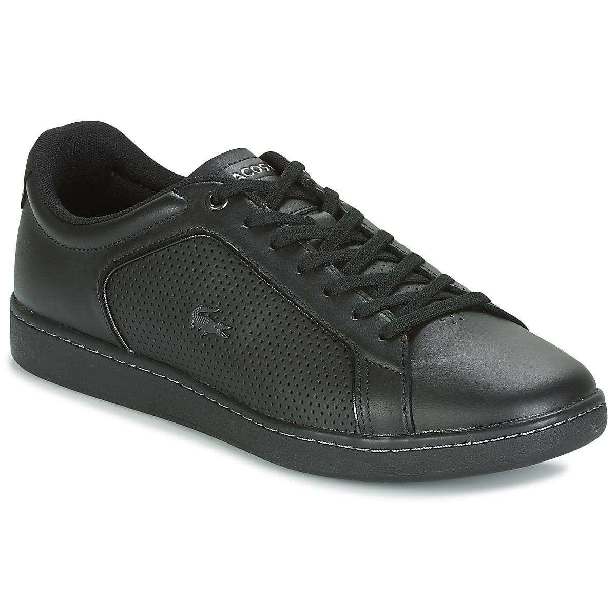 b958888b275eff Lacoste Carnaby Evo 317 10 Spm Shoes (trainers) in Black for Men - Lyst
