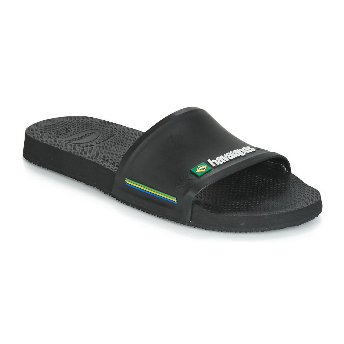 d416e3d7a Havaianas Slides in Black for Men - Save 23% - Lyst