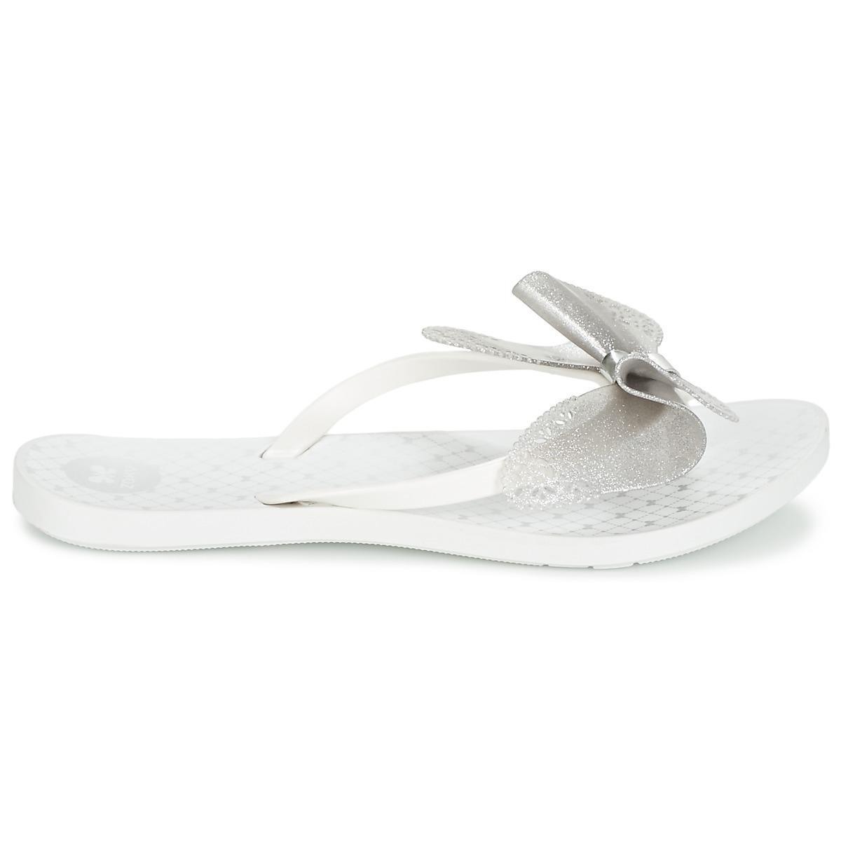 5464bd8abbf26f Zaxy - White Fresh Butterfly Flip Flops   Sandals (shoes) - Lyst. View  fullscreen
