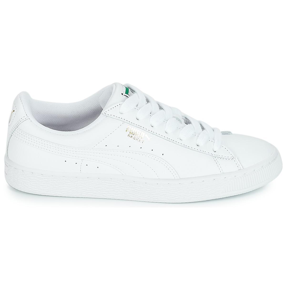 7226da99e0b2 PUMA - White Basket Classic Lfs.wht Shoes (trainers) - Lyst. View fullscreen