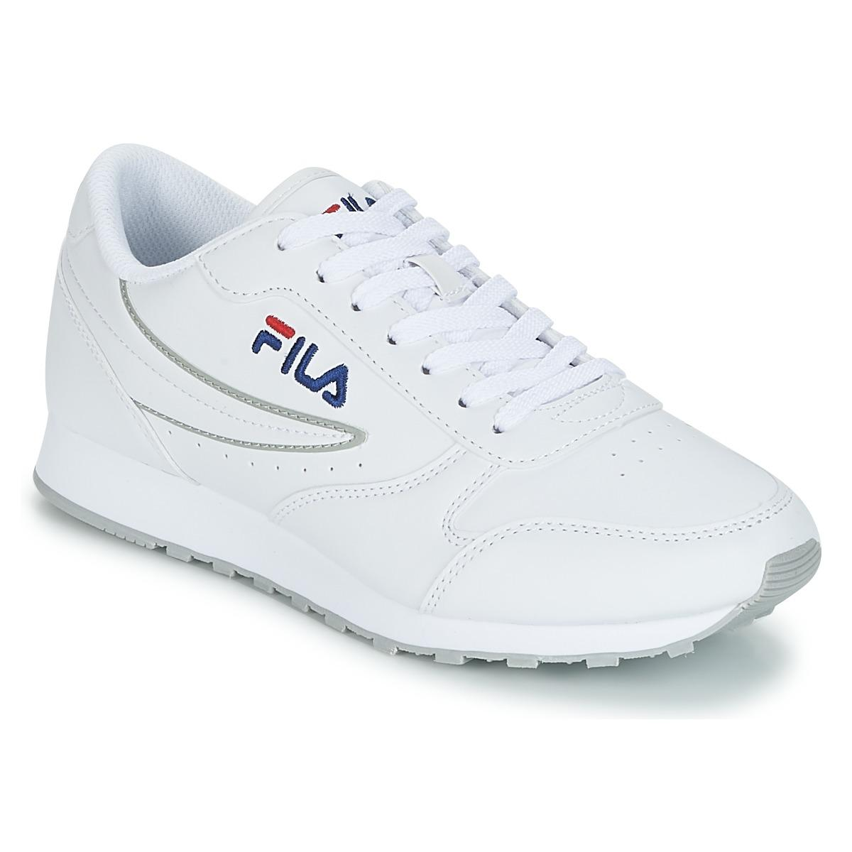 81c78afe47f5 Fila Orbit Low Wmn Shoes (trainers) in White - Save 24% - Lyst
