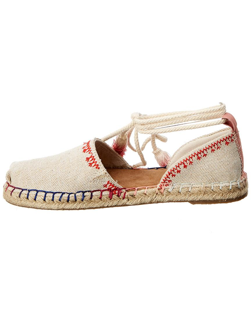 0cb78fc791e Lyst - TOMS Katalina Canvas Espadrille in Brown