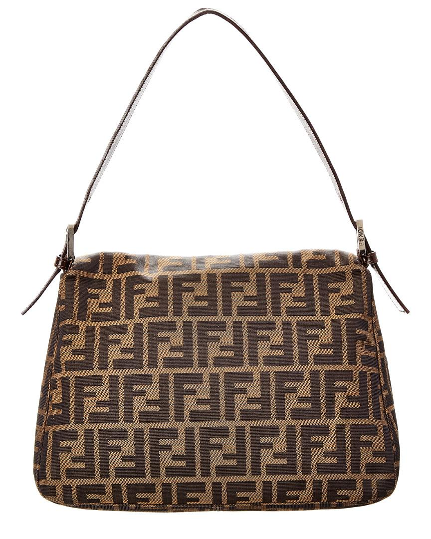 Fendi Brown Zucca Canvas Mamma Bag in Brown - Lyst b51bd862e8740