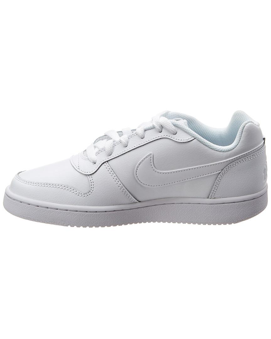 1f316dc98bc Lyst - Nike Ebernon Low-top Leather Sneaker in White - Save 13%