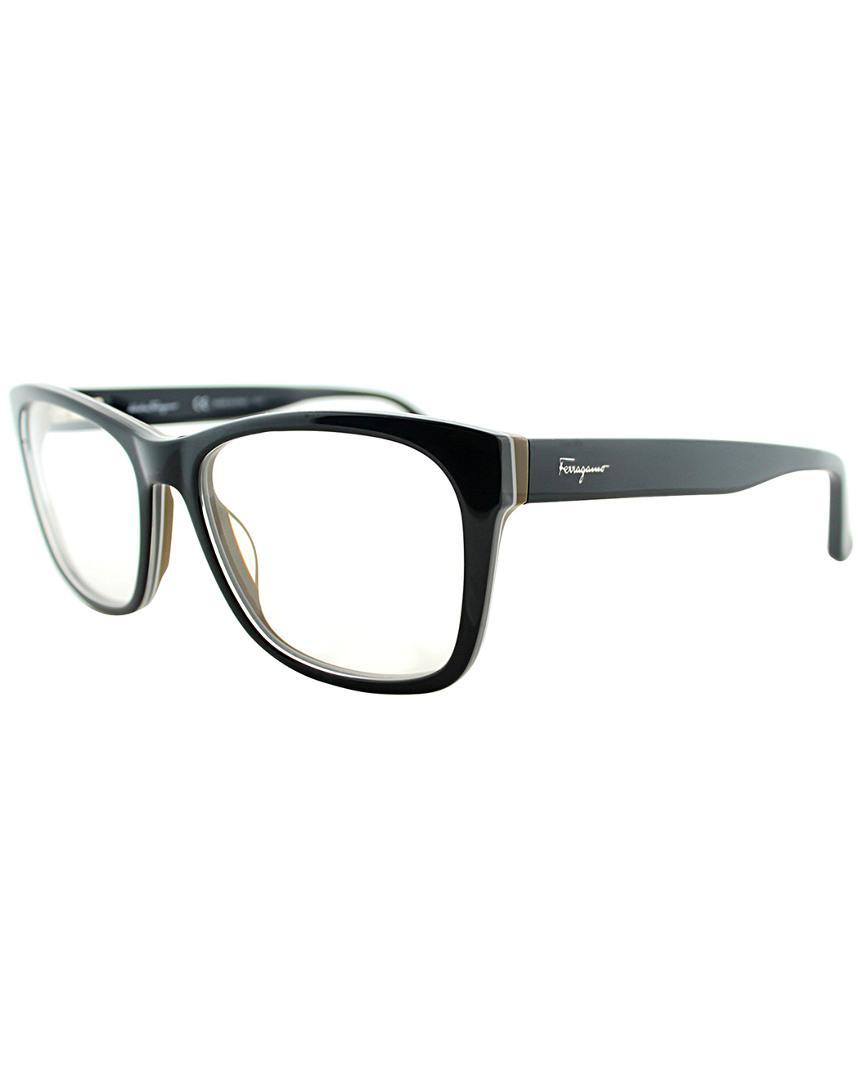 82ae741ba2 Lyst - Ferragamo Sf 2693 009 55mm Optical Frames in Black