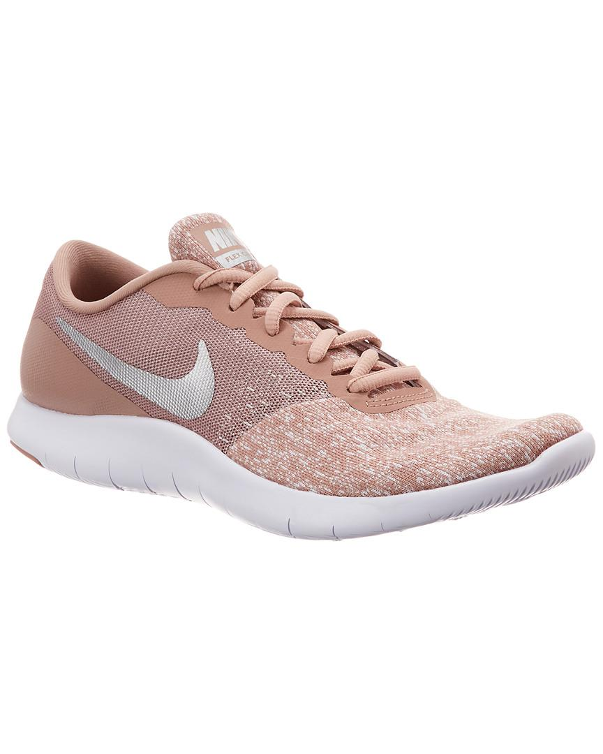 7d0f72483426 Lyst - Nike Flex Contact Running Shoe in Pink