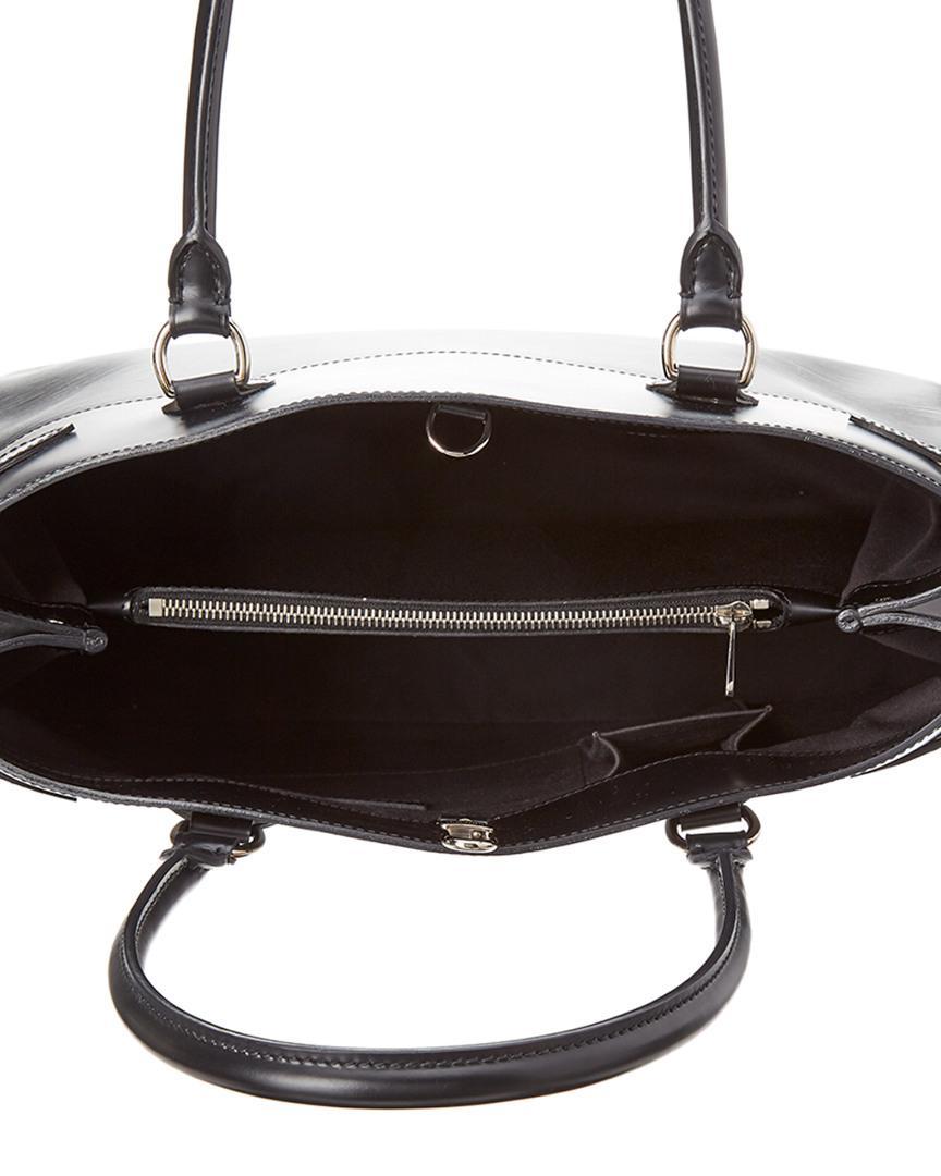Lyst - Louis Vuitton Noir Epi Leather Passy Gm in Black 93ae6b26d7