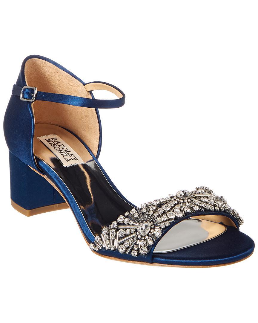 9b80b36a84f Lyst - Badgley Mischka Mareva Sandal in Blue - Save 29%