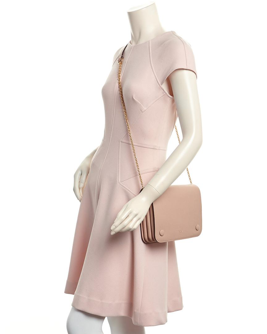 15044cacf9 Lyst - Mulberry Clifton Small Classic Grain Leather Crossbody in Pink