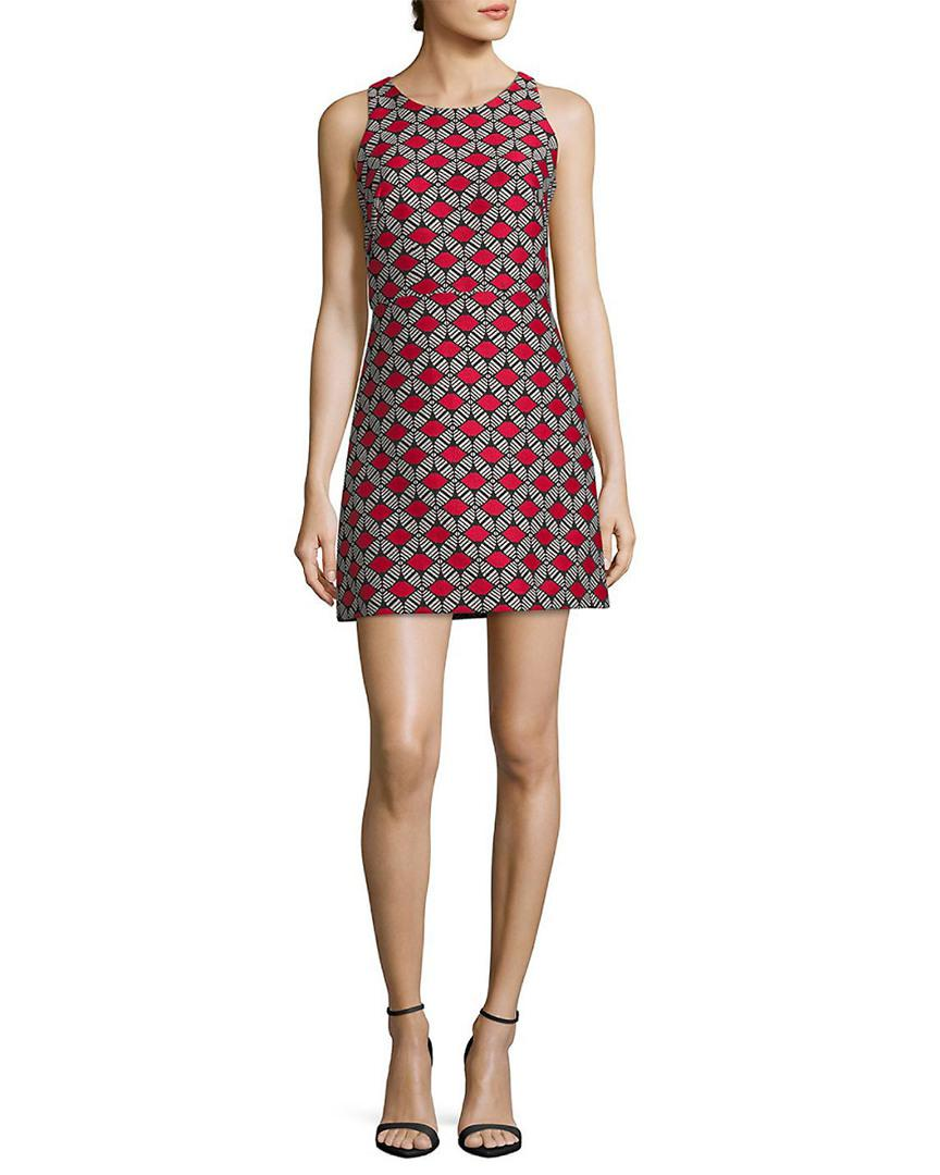 8c8a06d07c4 MILLY. Women s Embroidered A-line Dress