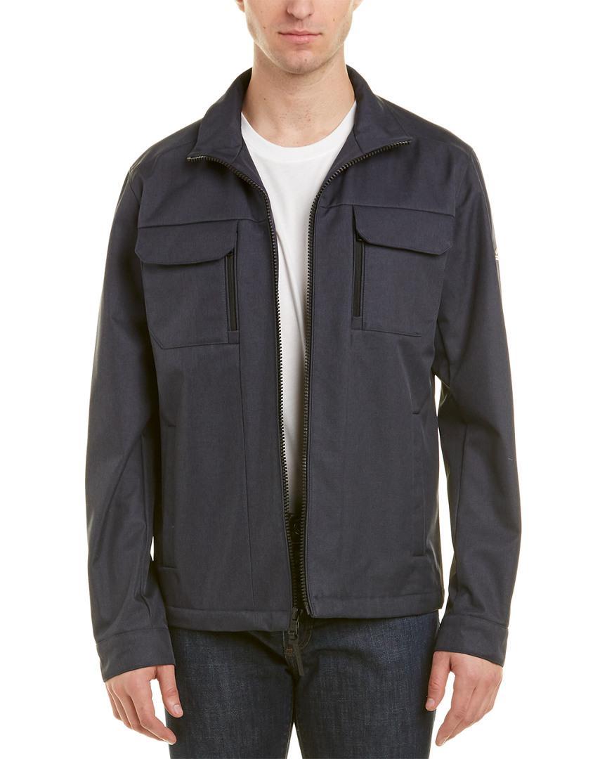 59761c050ecd5 Lyst - Michael Kors Hadley Melange Jacket in Blue for Men - Save 8%