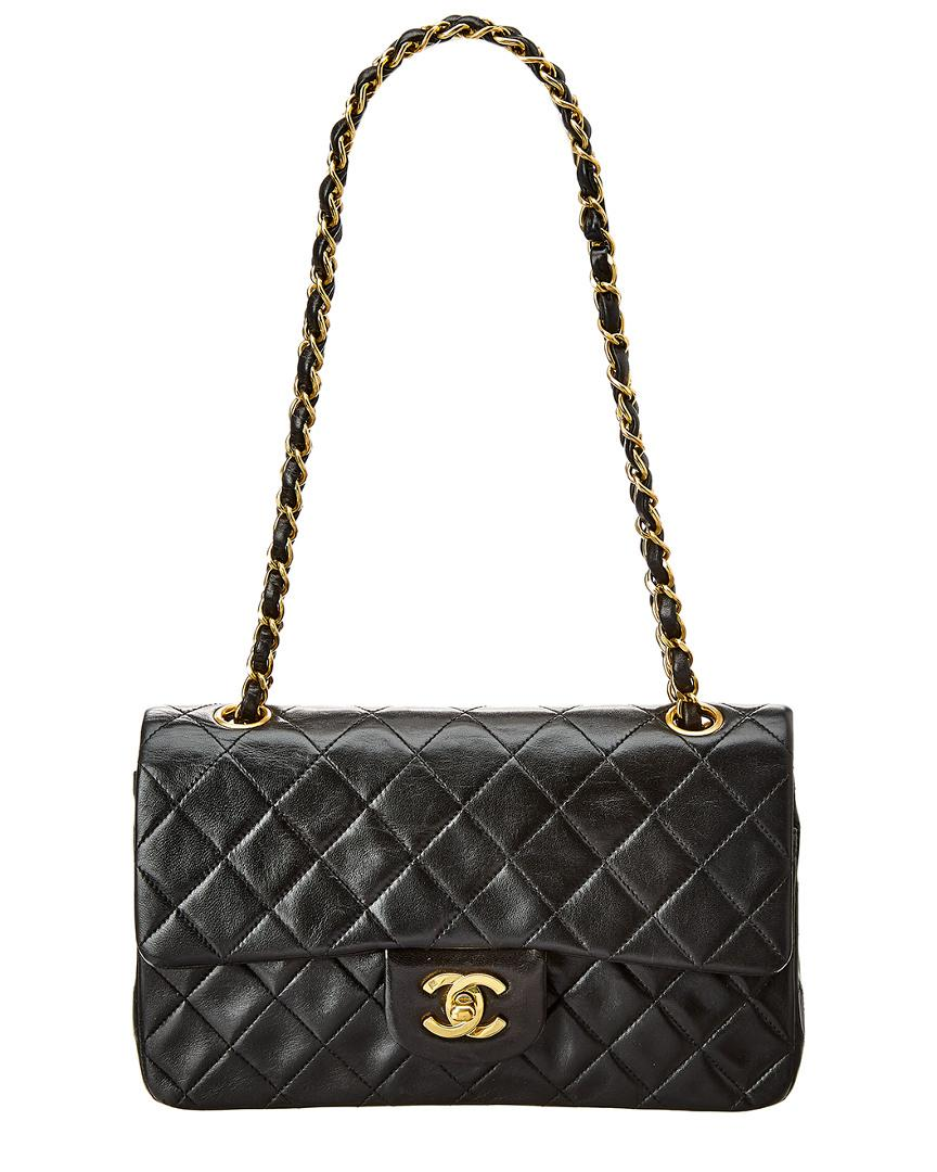 c99194f5a801 Chanel. Women s Black Quilted Lambskin Leather Reissue 2.55 Small Double Flap  Bag