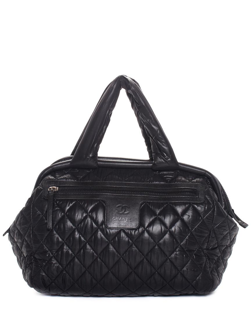 b0eb4eb6d868 Chanel - Black Quilted Nylon Coco Cocoon - Lyst. View fullscreen