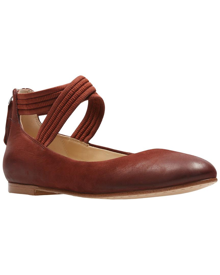 Lyst Grace Leather Anna Clarks Flat Brown In F1JclTK