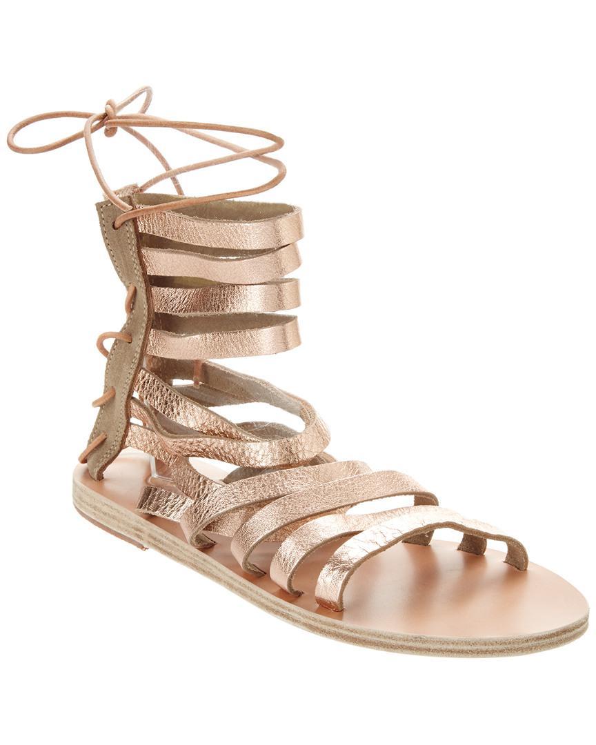 c5a6f32f3da2 Lyst - Ancient Greek Sandals Sandals Galatia Metallic Leather ...