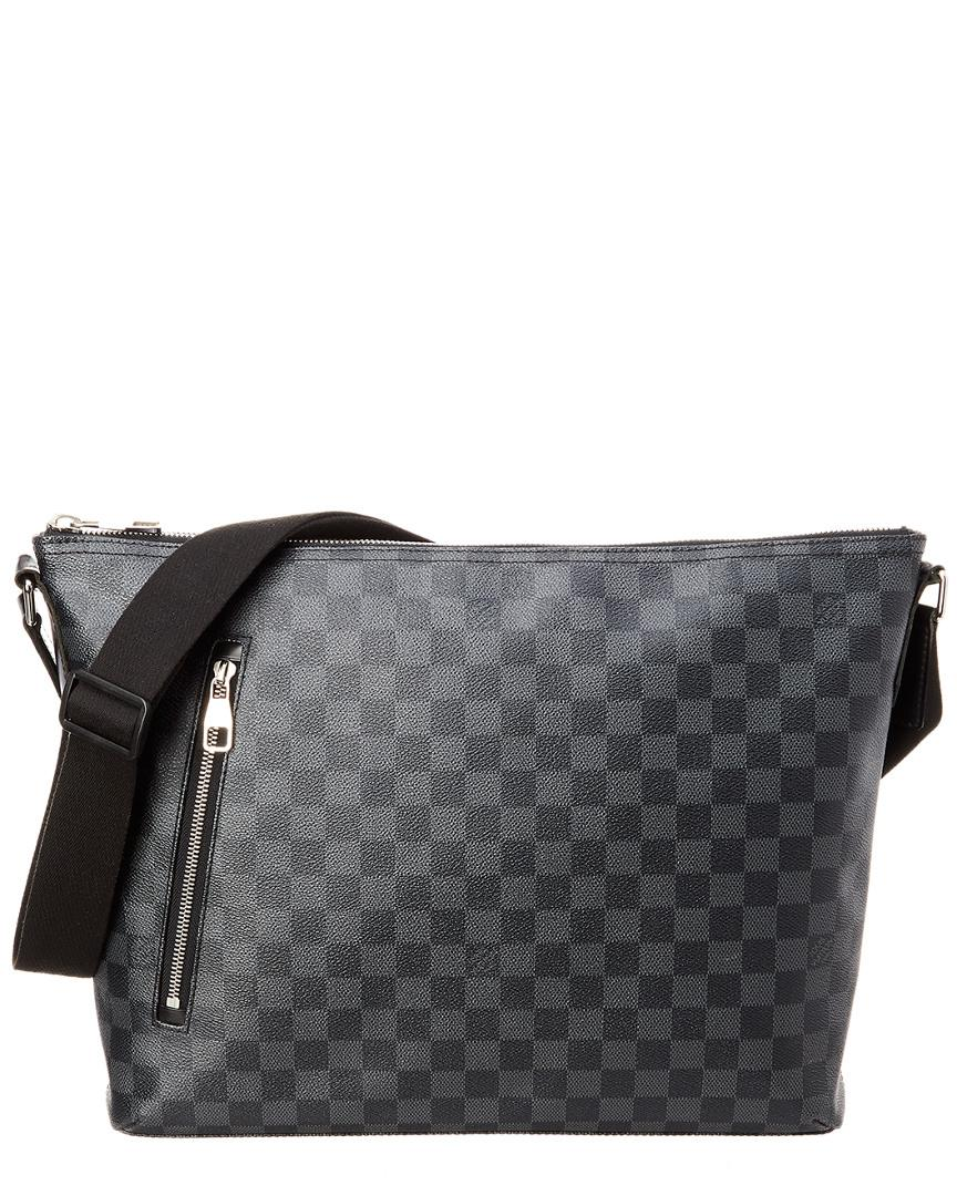 af7682625 Lyst - Louis Vuitton Damier Graphite Canvas Mick Mm in Gray for Men