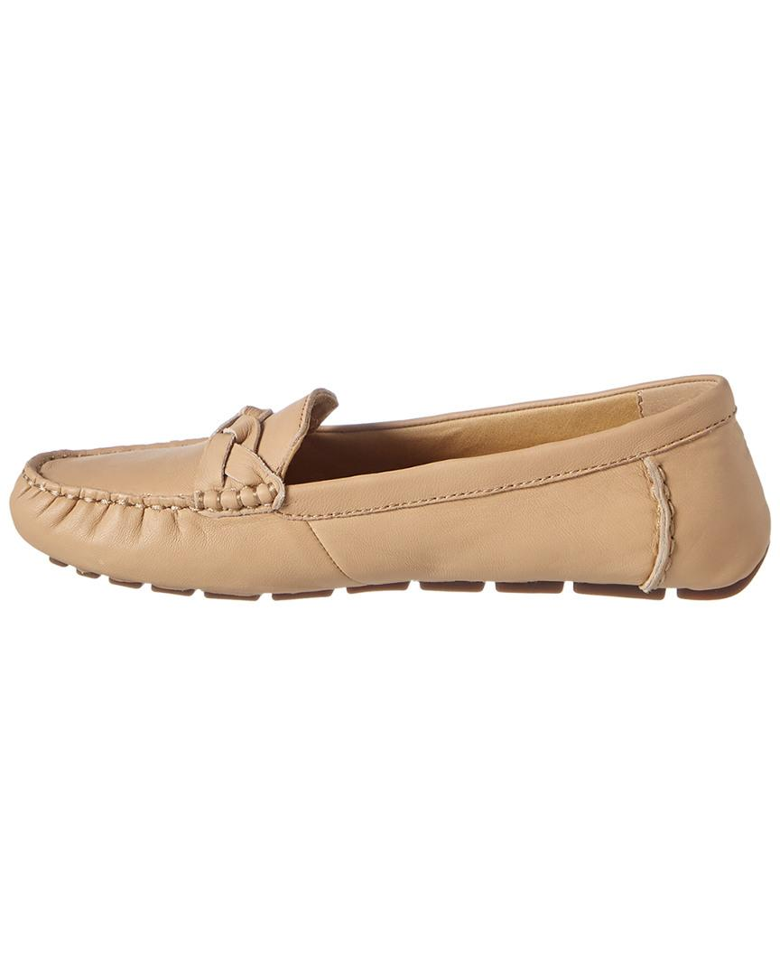 Driver Lyst Top In Leather Bridge Natural Sider Sperry Loafer HWED9IY2e