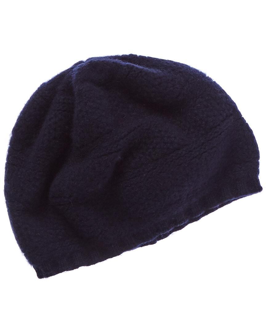 295671e5a447f Lyst - Portolano Dark Blue Cashmere Mushroom Hat in Blue