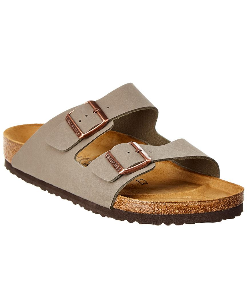 61d5d6aa052 Lyst - Birkenstock Arizona Leather Sandal in Gray for Men