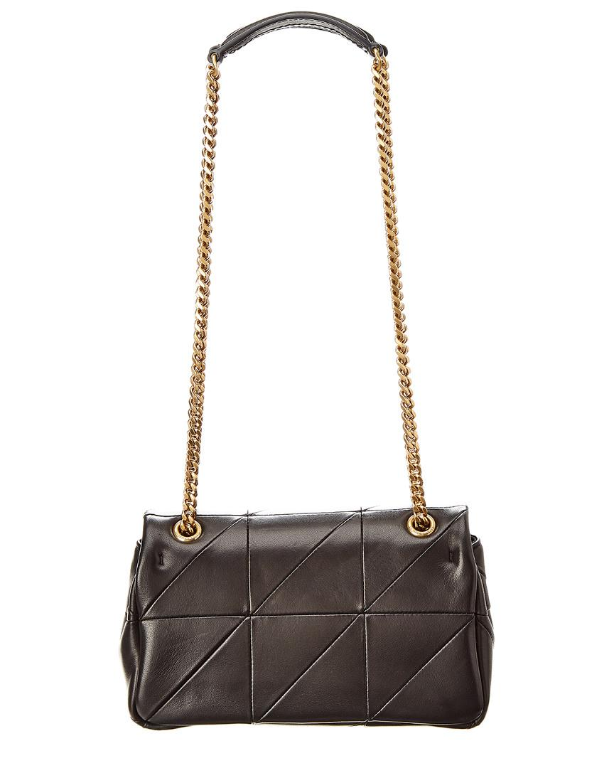 Saint Laurent Jamie Small Leather Shoulder Bag in Black - Lyst 9c4db61ba0a3b