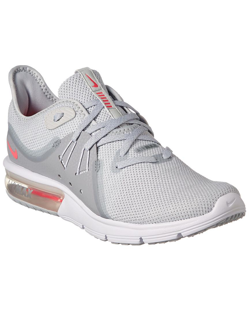 7ba47b34fcc Nike Air Max Sequent 3 Running Shoe in Gray - Save 3.225806451612897 ...