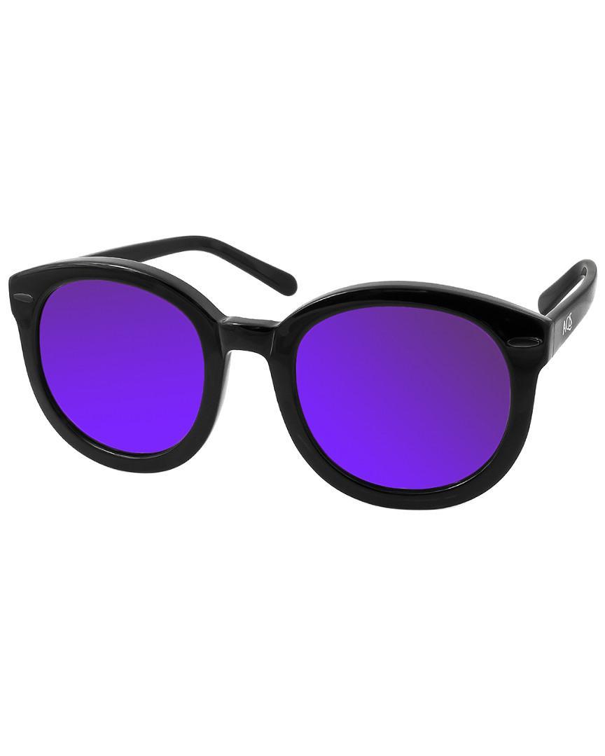 51b1e0a18c0 Lyst - Aquaswiss Women s Betty 49mm Polarized Sunglasses in Black