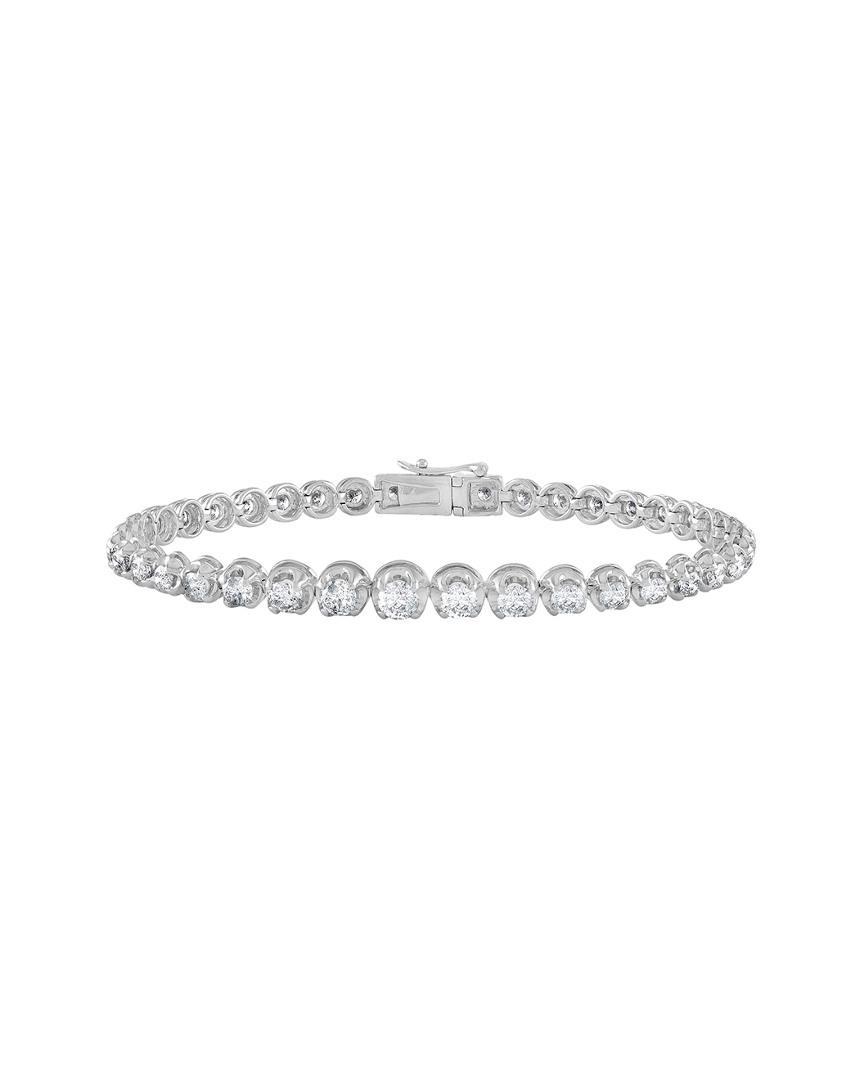 Diana M. Jewels 18k Seven-Row Diamond Link Bracelet YDbwyKY