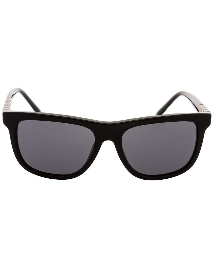 5934f6dd2f1 Lyst - Burberry Men s Be4201 58mm Sunglasses for Men