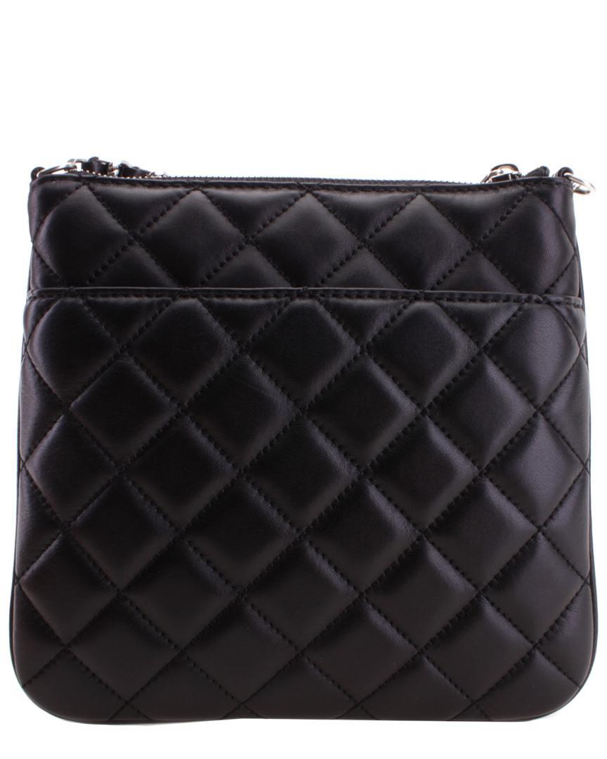6d3dcde19a71 Michael Kors Sloan Leather Crossbody in Black - Lyst