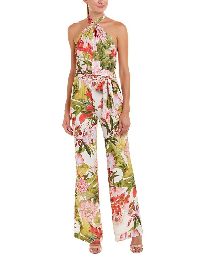 0a5ba0afbad8 Josie Natori Paradise Floral Jumpsuit - Save 71% - Lyst
